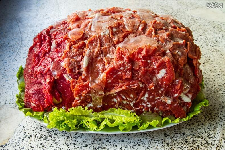 多只人造肉概念股集体上涨 板块涨幅达3.36%